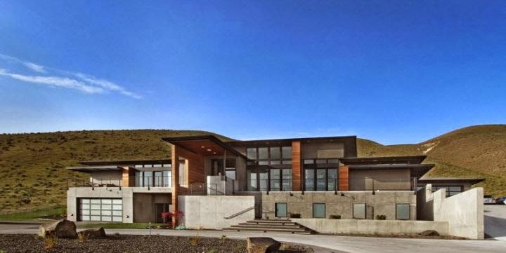 Decorablog revista de decoraci n for Planos de casas de campo