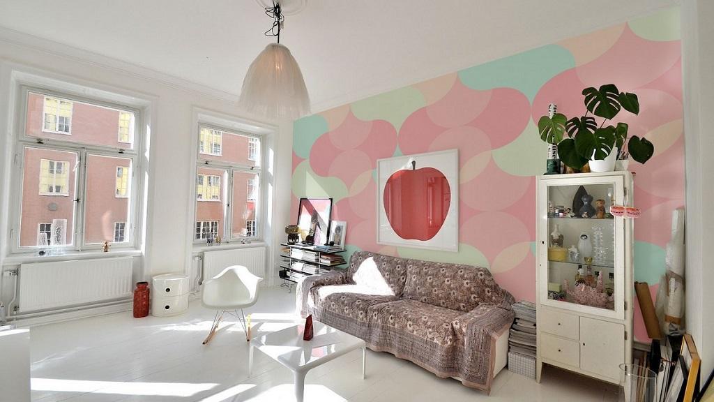 colores pastel salon