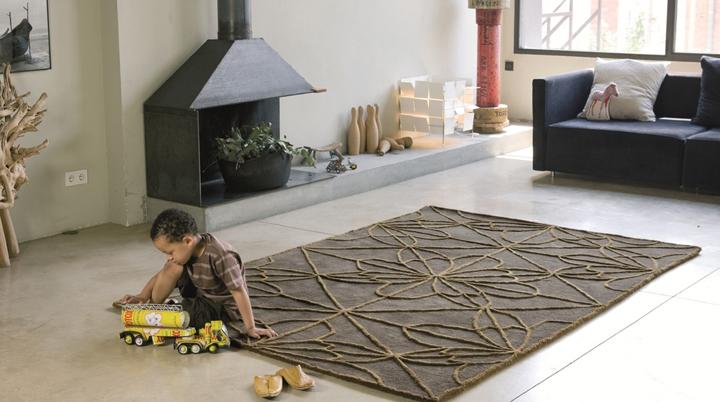 C mo escoger alfombras para la casa for Alfombras lavables para salon