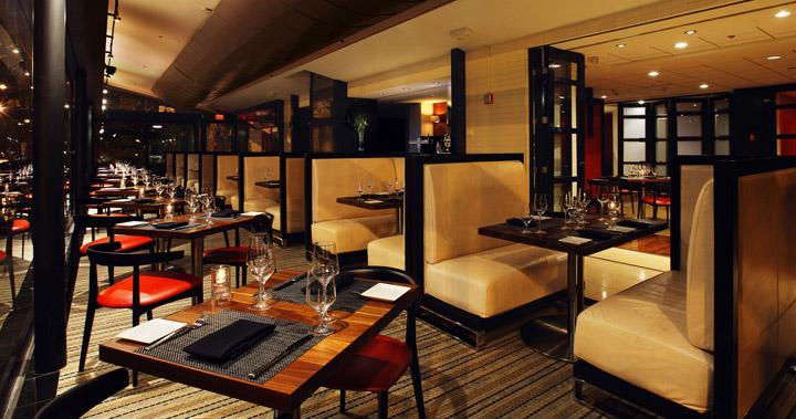 Decoracion de un restaurante moderno
