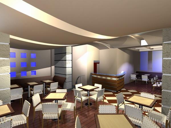 Decoracion de un restaurante moderno10 for Decoracion de banos de restaurantes