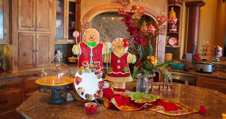 Ideas Para Decorar Baño En Navidad:Ideas para decorar la cocina en Navidad
