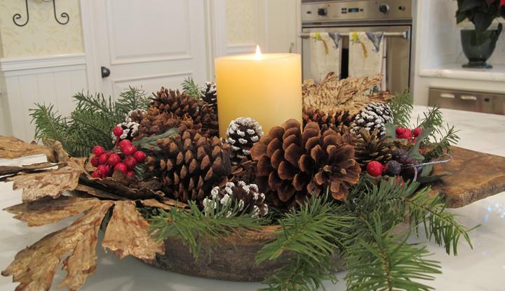 Ideas para decorar la cocina en navidad for Ideas para decorar pared cocina