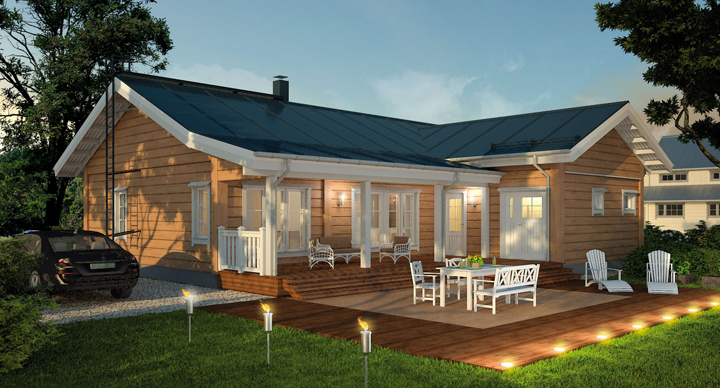 Materiales para casas prefabricadas for Adobe style modular homes