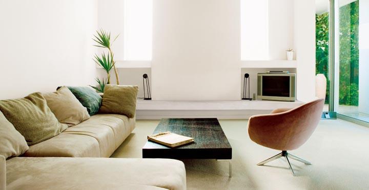 Muebles para el sal n baratos for Simple drawing room decoration