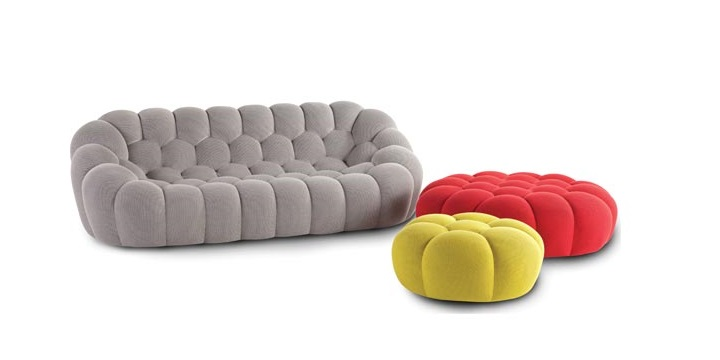 Moderno sof de 3 plazas de roche bobois for Canape bubble