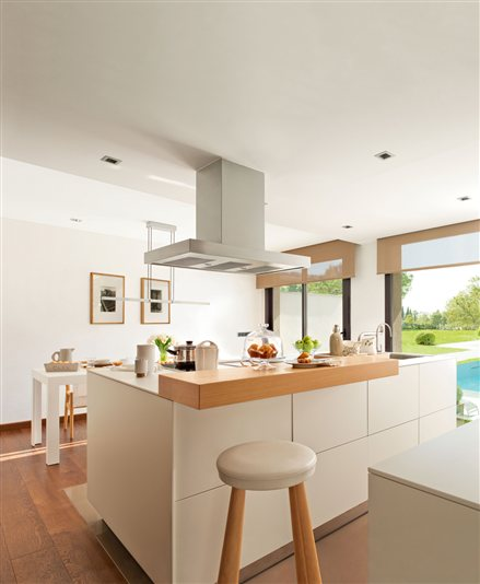Cocinas barra desayunar12 - Cocinas modernas con barra ...