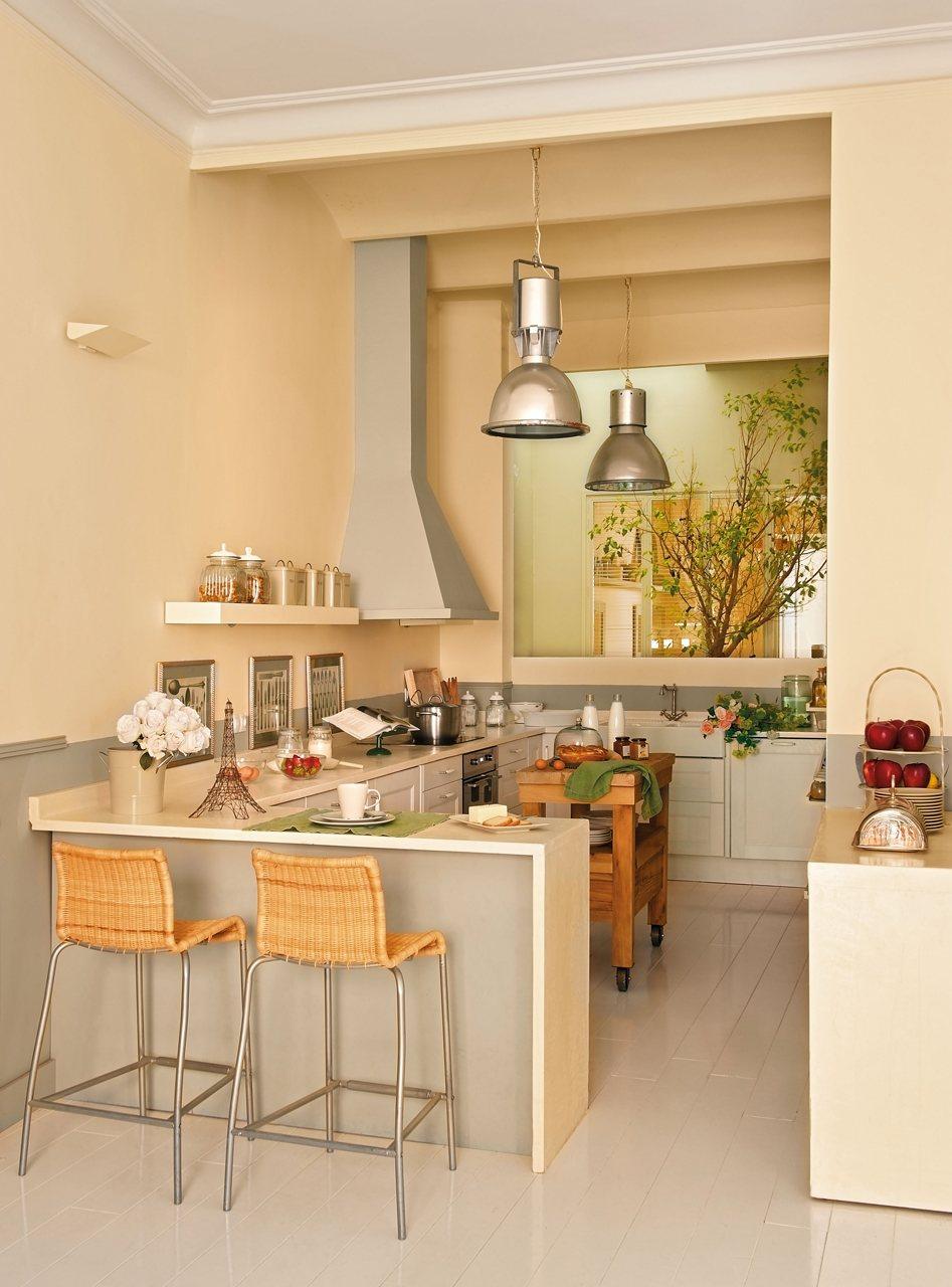 Cocina Rustica De Obra. Cocinas Con Encanto Dos Propuestas De Cocina ...