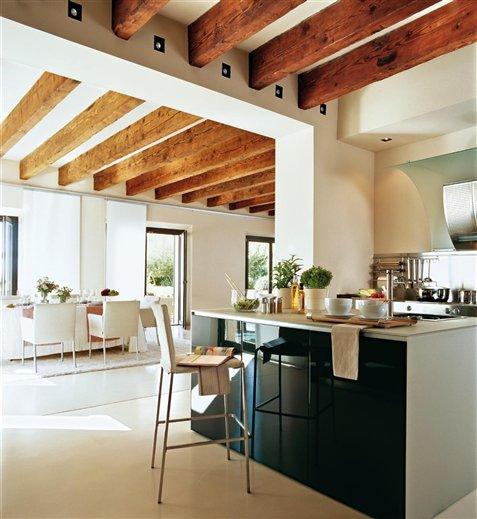 Cocinas barra desayunar33 - Barras de cocina de madera ...