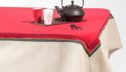 Coleccion Bohemia Cubremantel Srinagar