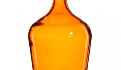 Coleccion Bohemia Jarron damajuana naranja Gypsy modelo grande
