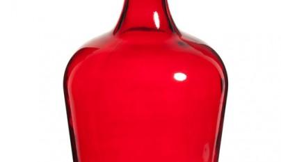 Coleccion Bohemia Jarron damajuana rojo Gypsy modelo grande