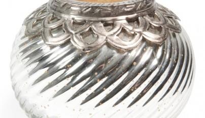 Coleccion Bohemia Portavelas gypsy Antic silver