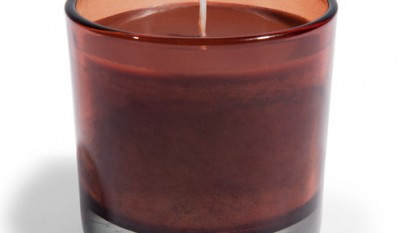 Coleccion Bohemia Vela en Vaso chocolate