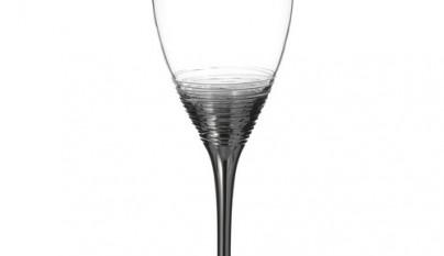 Coleccion Clasico Copa de vino Twister plata