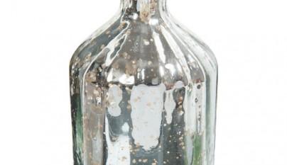 Coleccion Clasico Jarron botella Antic silver