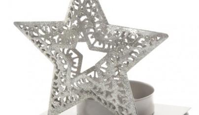 Coleccion Nordica Portavelas Romantic star