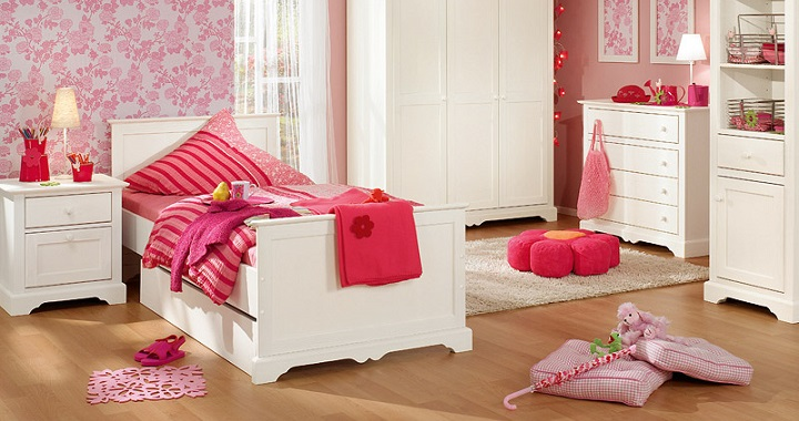 Dormitorio rosa decoracion