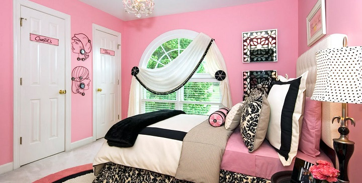 Dormitorio rosa decoracion1