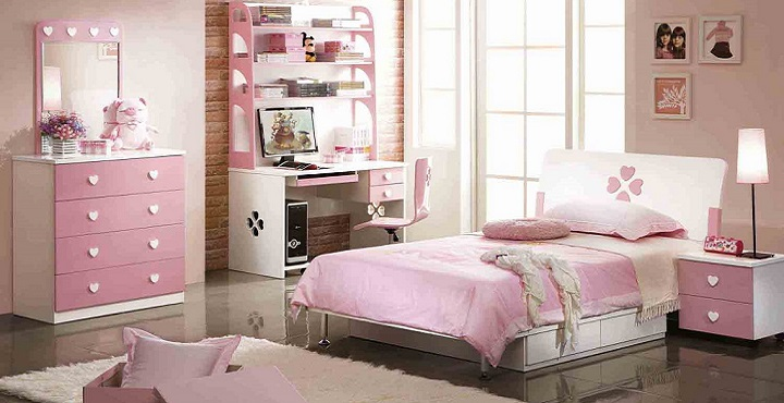 Dormitorio rosa decoracion2