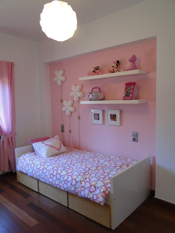 Decoraci n rosa para el dormitorio for Dormitorio rosa