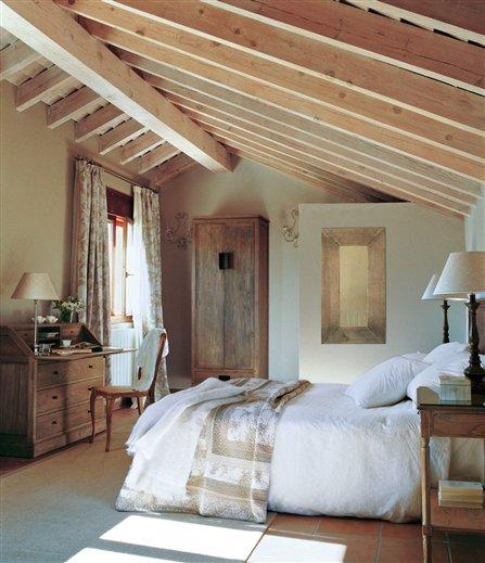 Dormitorios encanto26 - Dormitorio colonial blanco ...
