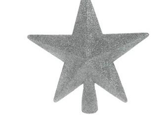 Estrella Plateada Para Arbol