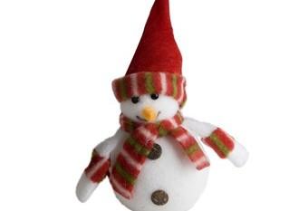 Muneco Nieve Gorro Rojo2