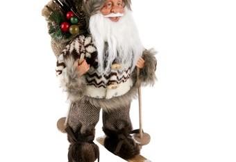Santa Claus Abrigo Marron