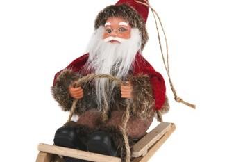 Santa Claus Colgar Trineo