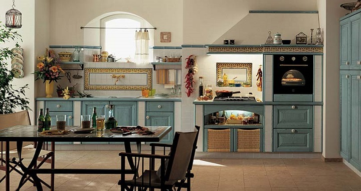 Fotos de cocinas r sticas - Cocinas de material rusticas ...