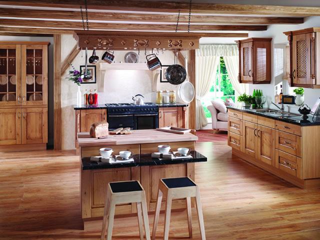 muebles de cocinas rusticas