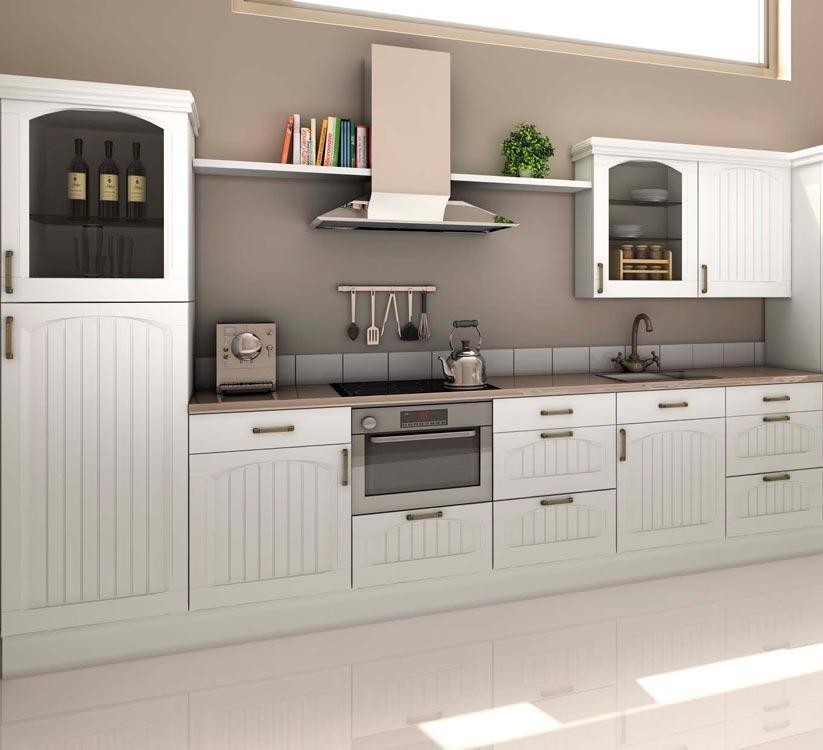 Fotos de cocinas r sticas for Cocinas rusticas blancas