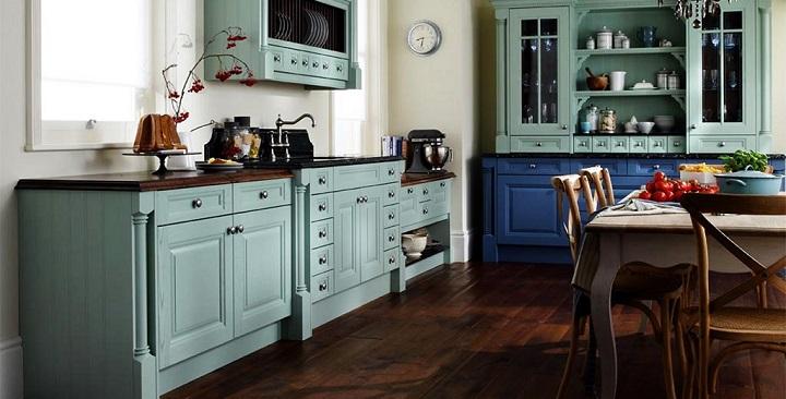 Fotos de cocinas vintage - Muebles de cocina retro ...