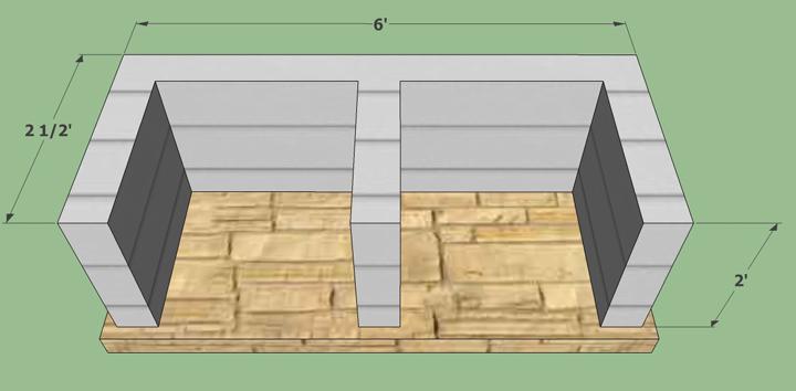Decoracion mueble sofa materiales para barbacoa de obra - Como hacer una barbacoa casera ...