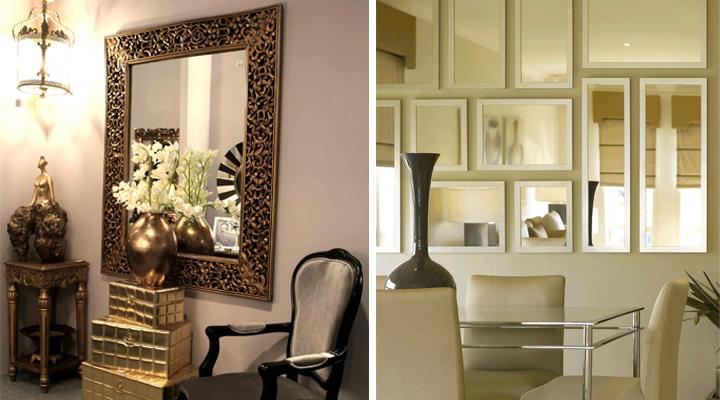 Consejos para decorar con espejos for Decoracion con espejos grandes