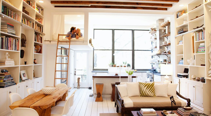consejos para decorar un loft
