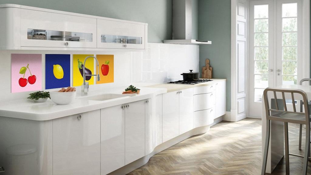 Colocar cuadros en las paredes de forma decorativa - Cuadros modernos para cocina ...