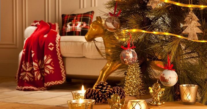 Fotos de casas decoradas para navidad for Fotos decoracion navidad