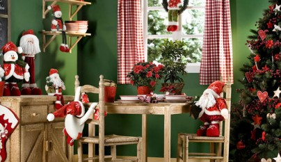 Fotos de casas decoradas para navidad - Decoracion de navidad para el hogar ...