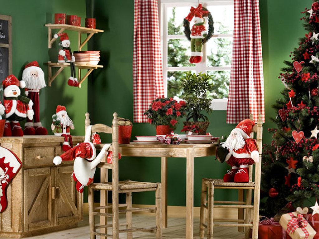 Fotos de casas decoradas para navidad for Adornos para la casa