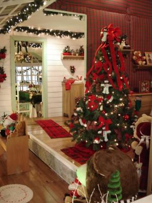 Fotos de casas decoradas para navidad for Como adornar la casa para navidad