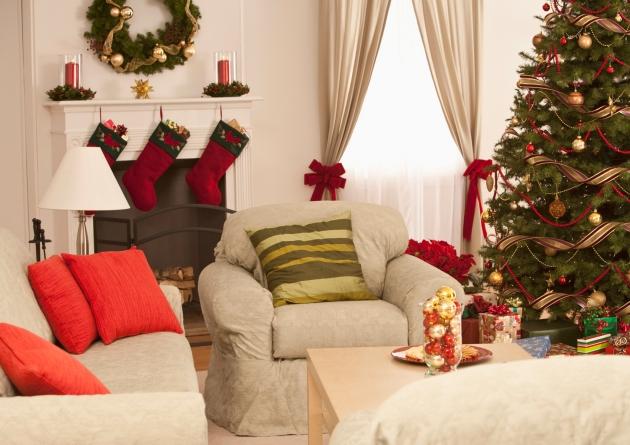 Decoracion navidad42 for Decoracion casa navidad