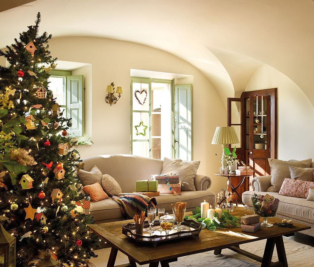Decoracion navidad51 - Casas decoradas en navidad ...
