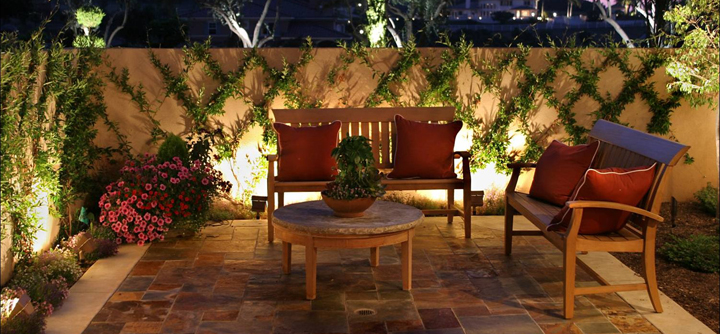 Decoraci n de una terraza en invierno - Piedras para jardin baratas ...