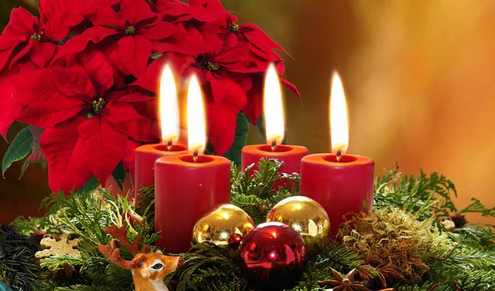 decoracion vintage para Navidad