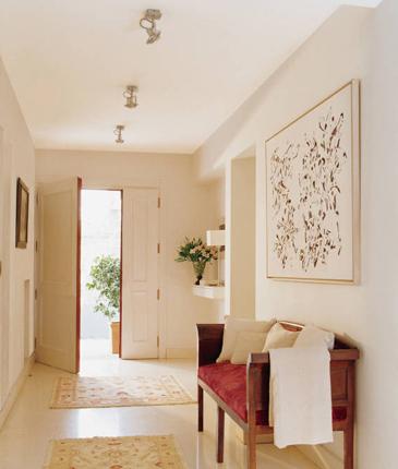 Fotos de entradas y recibidores decorados for Entradas de casa ikea