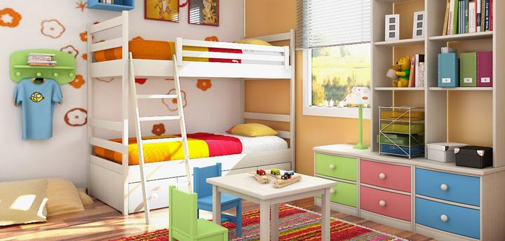Habitaciones infantiles para soñar