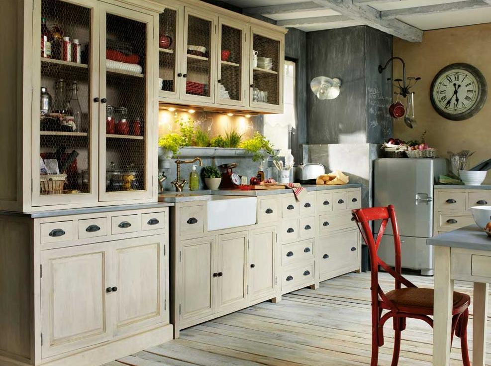 Fotos de cocinas vintage for Fotos de cocinas