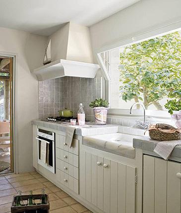 Fotos de cocinas vintage for Cocinas vintage rusticas